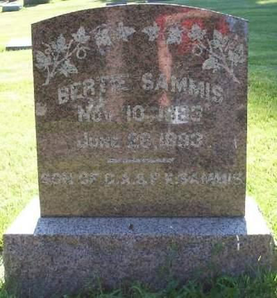 SAMMIS, BERTIE - Plymouth County, Iowa | BERTIE SAMMIS