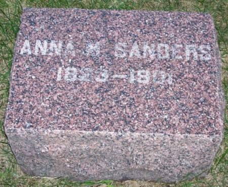 SANDERS, ANNA M. - Plymouth County, Iowa | ANNA M. SANDERS