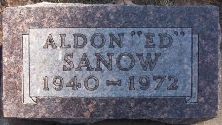 SANOW, ALDON DALE