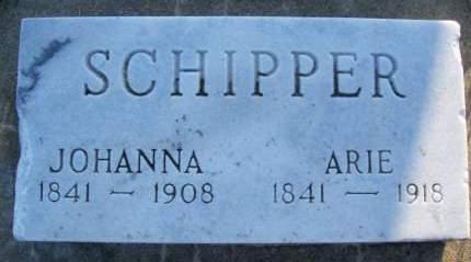 SCHIPPER, ARIE - Plymouth County, Iowa | ARIE SCHIPPER