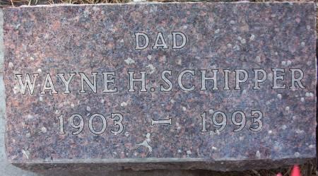 SCHIPPER, WAYNE H. - Plymouth County, Iowa   WAYNE H. SCHIPPER