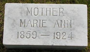 SCHMIDT, MARIE ANN - Plymouth County, Iowa | MARIE ANN SCHMIDT