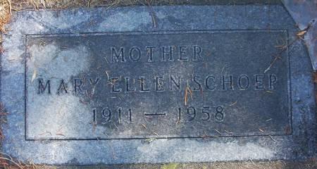 SCHOEP, MARY ELLEN - Plymouth County, Iowa | MARY ELLEN SCHOEP