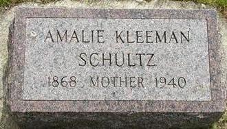 SCHULTZ, AMALIE - Plymouth County, Iowa | AMALIE SCHULTZ