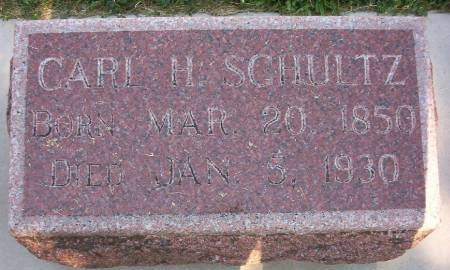 SCHULTZ, CARL HENRY - Plymouth County, Iowa | CARL HENRY SCHULTZ
