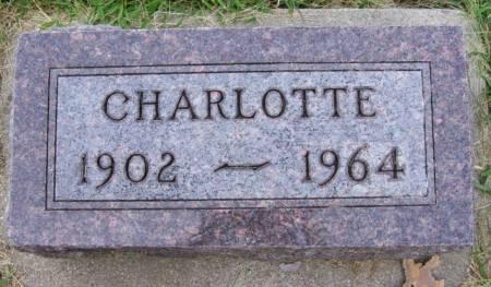 SCHULTZ, CHARLOTTE - Plymouth County, Iowa | CHARLOTTE SCHULTZ