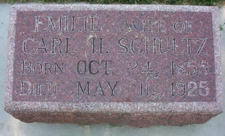 SCHULTZ, EMILIE - Plymouth County, Iowa   EMILIE SCHULTZ