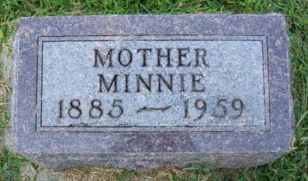 SCHULTZ, MINNIE S. - Plymouth County, Iowa | MINNIE S. SCHULTZ
