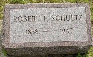 SCHULTZ, ROBERT E - Plymouth County, Iowa   ROBERT E SCHULTZ