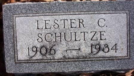 SCHULTZE, LESTER C. - Plymouth County, Iowa   LESTER C. SCHULTZE