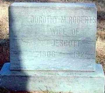 ROBERTS SCOTT, DOROTHY - Plymouth County, Iowa | DOROTHY ROBERTS SCOTT