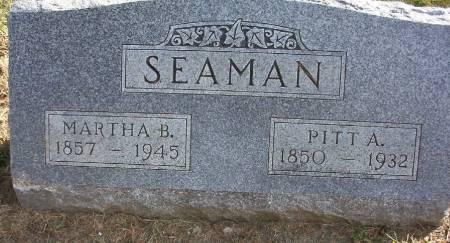 SEAMAN, MARTHA B. - Plymouth County, Iowa   MARTHA B. SEAMAN