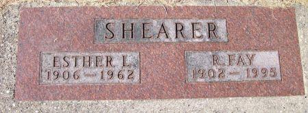 SHEARER, R. FAY - Plymouth County, Iowa | R. FAY SHEARER
