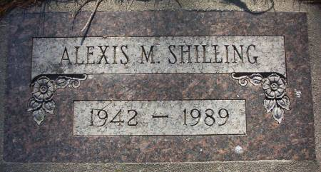 SHILLING, ALEXIS M. - Plymouth County, Iowa | ALEXIS M. SHILLING