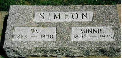 SIMEON, WILLIAM - Plymouth County, Iowa | WILLIAM SIMEON