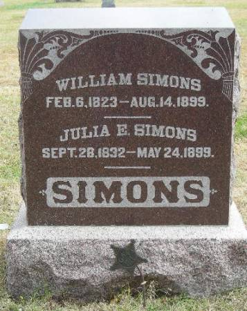 SIMONS, JULIA E. - Plymouth County, Iowa | JULIA E. SIMONS