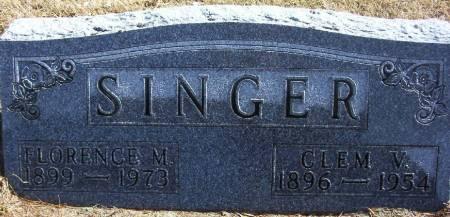 SINGER, CLEMENT V.