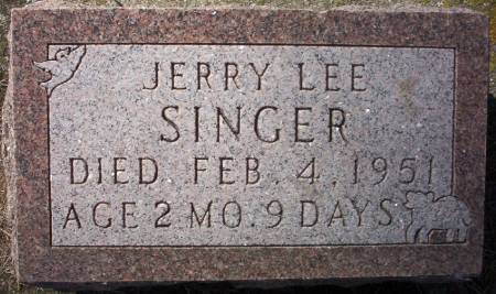 SINGER, JERRY LEE - Plymouth County, Iowa | JERRY LEE SINGER