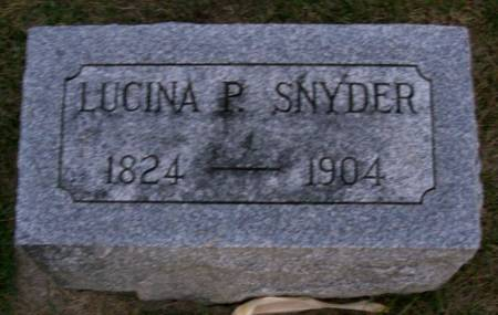 SNYDER OR SCHNEIDER, LUCINA P. - Plymouth County, Iowa | LUCINA P. SNYDER OR SCHNEIDER