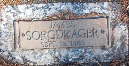 SORGDRAGER, JAMES MATT - Plymouth County, Iowa   JAMES MATT SORGDRAGER