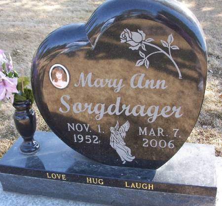 SORGDRAGER, MARY ANN - Plymouth County, Iowa | MARY ANN SORGDRAGER