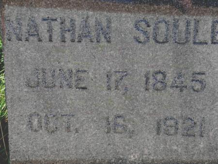 SOULE, NATHAN - Plymouth County, Iowa   NATHAN SOULE