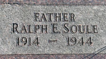 SOULE, RALPH E. - Plymouth County, Iowa | RALPH E. SOULE