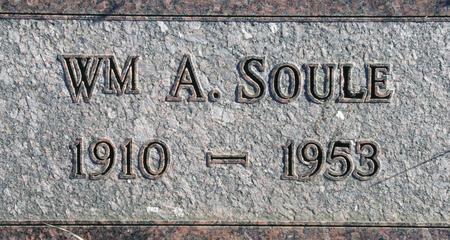 SOULE, WM A. - Plymouth County, Iowa | WM A. SOULE