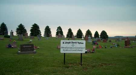 ST. JOSEPH-NEPTUNE, SIGN - Plymouth County, Iowa | SIGN ST. JOSEPH-NEPTUNE