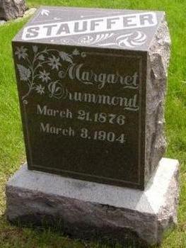 DRUMMOND STAUFFER, MARGARET - Plymouth County, Iowa | MARGARET DRUMMOND STAUFFER