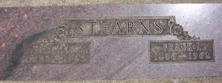 STEARNS, FLORENCE R. - Plymouth County, Iowa | FLORENCE R. STEARNS