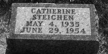 STEICHEN, CATHERINE - Plymouth County, Iowa   CATHERINE STEICHEN