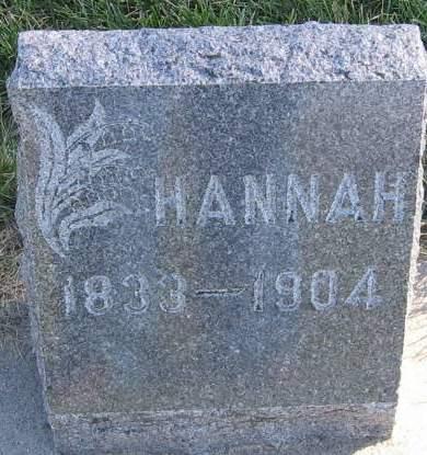 MANSELL STINTON, HANNAH - Plymouth County, Iowa | HANNAH MANSELL STINTON