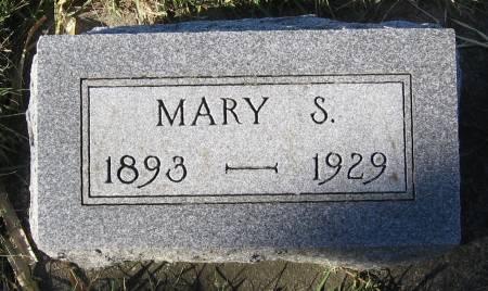 STINTON, MARY S. - Plymouth County, Iowa   MARY S. STINTON