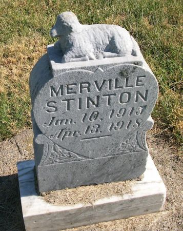 STINTON, MERVILLE - Plymouth County, Iowa | MERVILLE STINTON