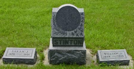 HAMILTON STINTON, SARAH JANE - Plymouth County, Iowa | SARAH JANE HAMILTON STINTON