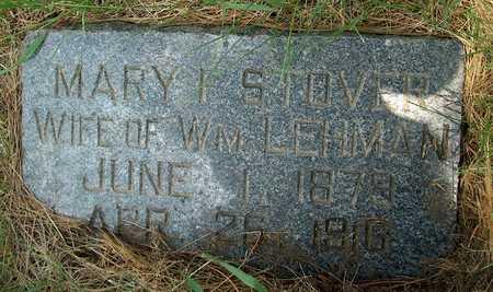STOVER, MARY F. - Plymouth County, Iowa | MARY F. STOVER