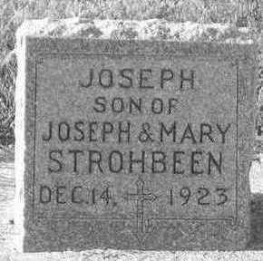 STROHBEEN, JOSEPH - Plymouth County, Iowa | JOSEPH STROHBEEN