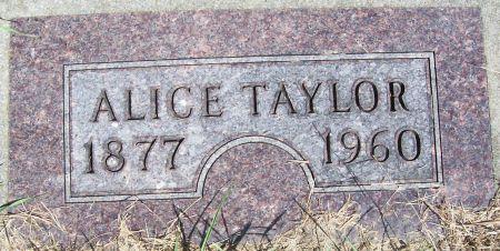 TAYLOR, ALICE - Plymouth County, Iowa | ALICE TAYLOR