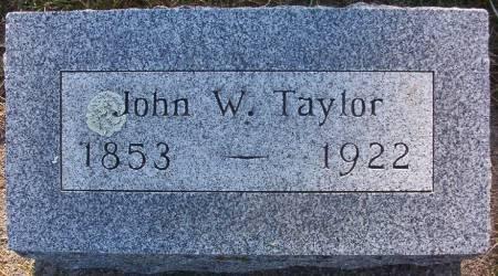 TAYLOR, JOHN W. - Plymouth County, Iowa | JOHN W. TAYLOR