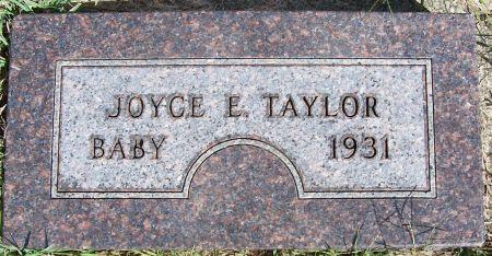 TAYLOR, JOYCE C. - Plymouth County, Iowa | JOYCE C. TAYLOR