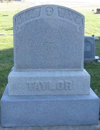 TAYLOR, MARGARET ANN - Plymouth County, Iowa | MARGARET ANN TAYLOR