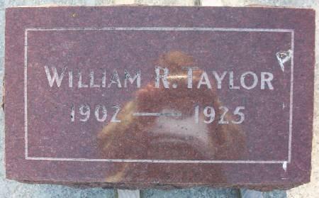 TAYLOR, WILLIAM R. - Plymouth County, Iowa | WILLIAM R. TAYLOR