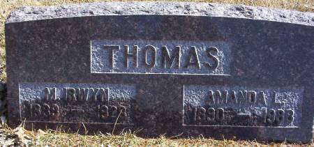 THOMAS, MORGAN IRWYN - Plymouth County, Iowa | MORGAN IRWYN THOMAS