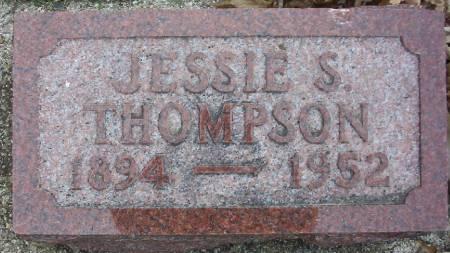 THOMPSON, JESSIE S. - Plymouth County, Iowa | JESSIE S. THOMPSON
