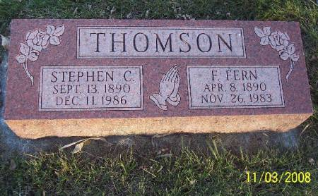 THOMPSON, F FERN - Plymouth County, Iowa | F FERN THOMPSON