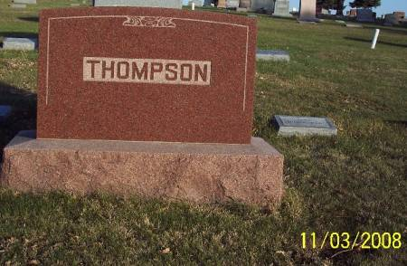 THOMPSON, TOMBSTONE - Plymouth County, Iowa | TOMBSTONE THOMPSON