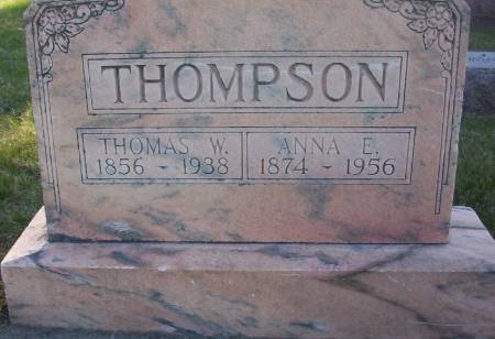 THOMPSON, THOMAS WILLIAM - Plymouth County, Iowa | THOMAS WILLIAM THOMPSON