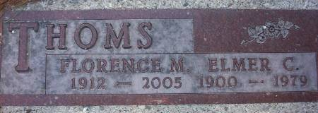 BROWN THOMS, FLORENCE MILDRED - Plymouth County, Iowa | FLORENCE MILDRED BROWN THOMS