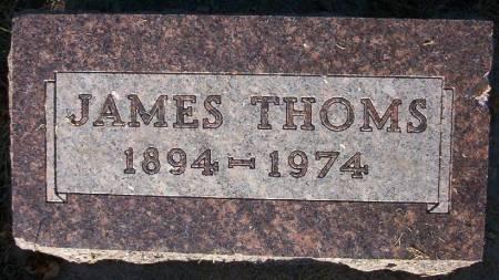 THOMS, JAMES JR. - Plymouth County, Iowa | JAMES JR. THOMS